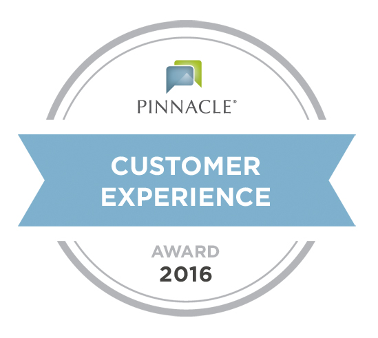 Pinnacle Customer Experience Award