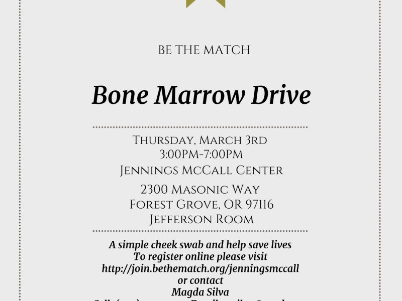 Bone Marrow Drive